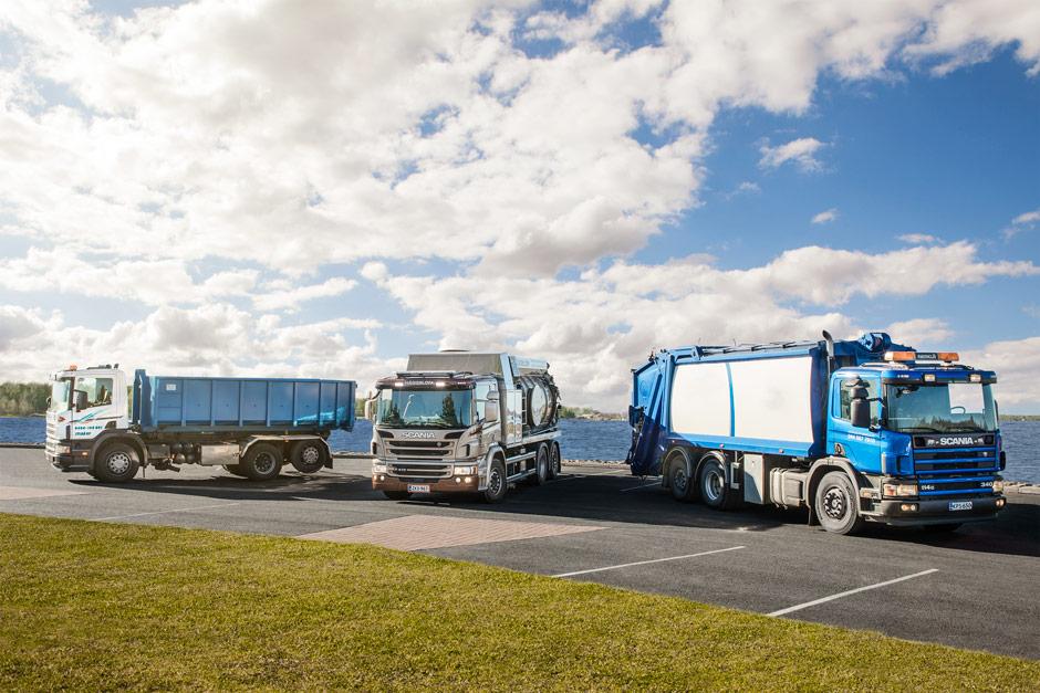 Tarjoamme taloyhtiöille monipuolista jätehuoltoa.